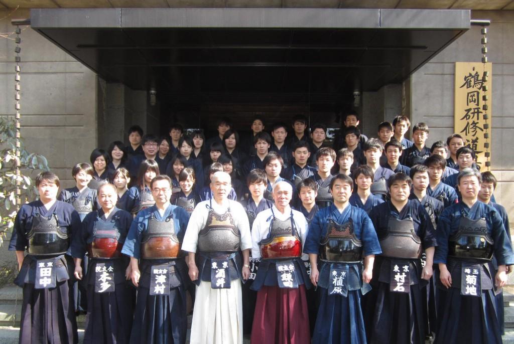 2014年度鶴岡八幡宮合宿㈰